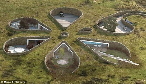 Gary Neville xây nhà trong lòng đất