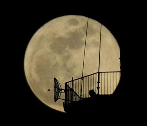 Chiêm ngưỡng trăng to tròn nhất trong năm