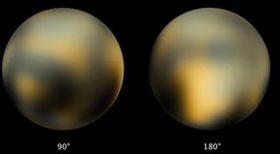 Sao Diêm Vương đổi màu