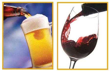 Rượu bia ngày Tết đừng quên lá gan