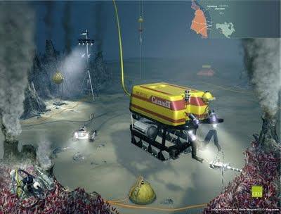 Xây dựng đài quan sát hạt neutrino dưới đáy biển