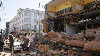 Động đất Chile mạnh gấp 500 lần ở Haiti