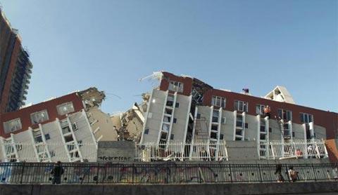 Động đất tại Chile thuộc loại mạnh nhất hành tinh