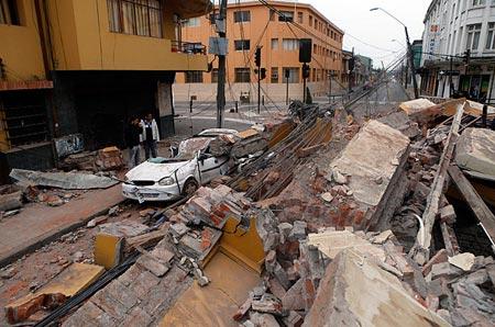 Ngày ngắn hơn vì động đất Chile