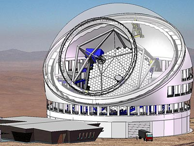 Sắp xây dựng kính viễn vọng lớn nhất thế giới