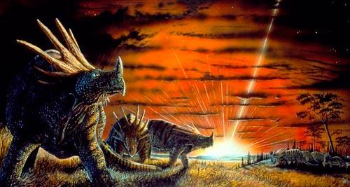 Thiên thạch khiến loài khủng long tuyệt chủng