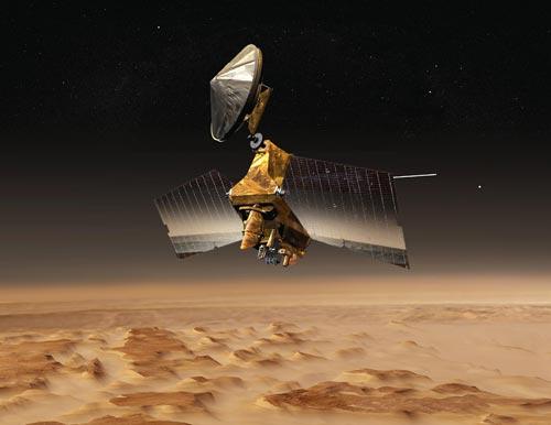 NASA: Sao Hỏa tràn ngập các dòng sông băng