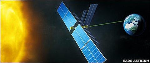 Thu điện mặt trời từ vũ trụ chuyển về trái đất