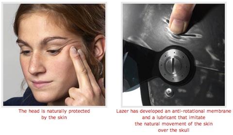 Bọc 'da' cho mũ bảo hiểm để tăng độ an toàn