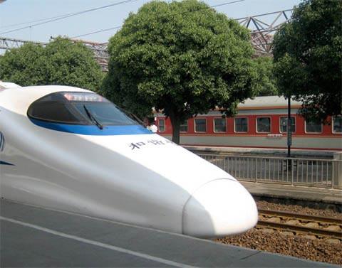 Tàu tốc hành Trung Quốc sẽ nhanh như máy bay?