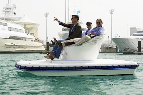 'Du thuyền' chạy điện