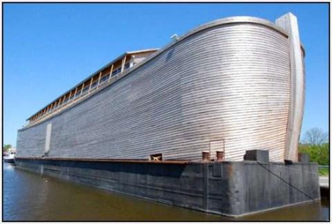Phục dựng con thuyền Noah