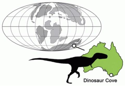 Phát hiện khủng long bạo chúa ở Nam bán cầu