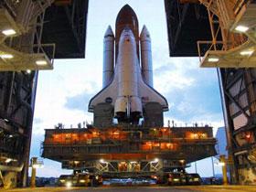 Tàu Discovery bay vào không gian hôm nay