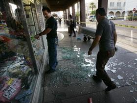 Động đất mạnh tại khu vực biên giới Mexico-Mỹ