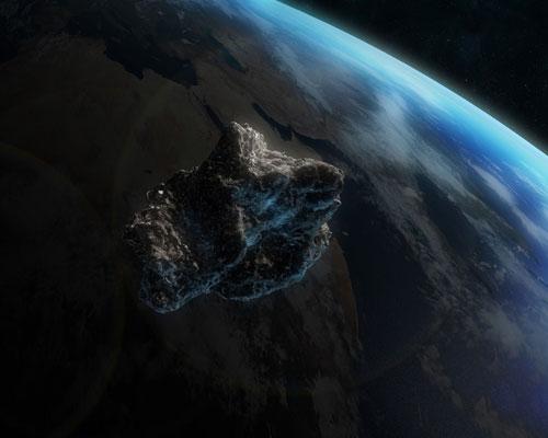 Thiên thạch bay sát trái đất