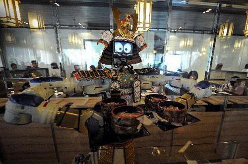Hầu bàn robot