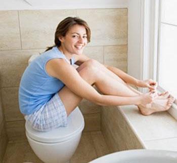 5 phút trong toilet mỗi ngày để phòng ung thư đại tràng