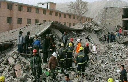 Những trận động đất mạnh năm nay