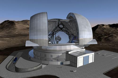 Kính viễn vọng lớn nhất thế giới được đặt ở Chile