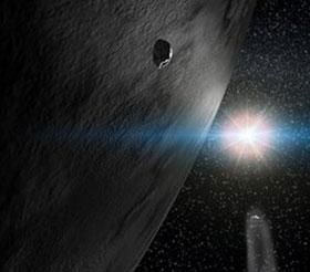 Lần đầu tiên thấy nước trên thiên thạch