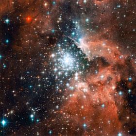 Đã xác định sự phân bố vật chất tối trong vũ trụ