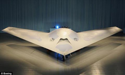 'Bóng ma cá đuối' của Boeing lộ diện