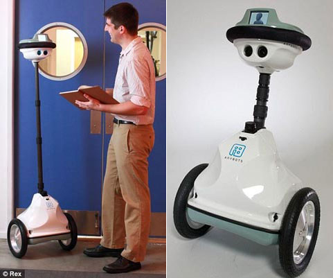 Nhờ robot đi... họp thay