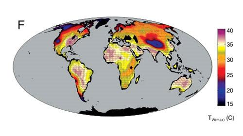Nhiệt độ trái đất sẽ vượt quá sức chịu đựng của con người