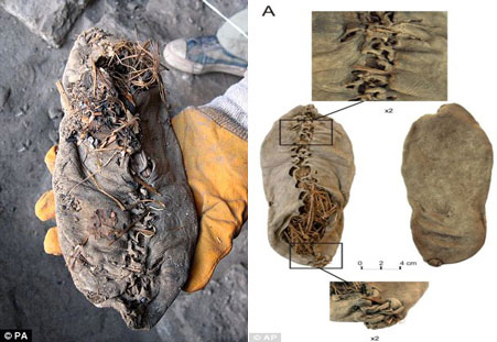 Tìm thấy giày 'hàng hiệu' 5.500 năm tuổi