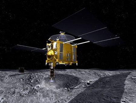 Phi thuyền đầu tiên thám hiểm thiên thạch trở về