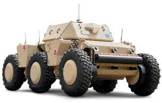 Quân đội Mỹ đang thử nghiệm Robot 6 bánh xe