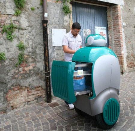 DustCart-Robot thông minh tự dọn rác