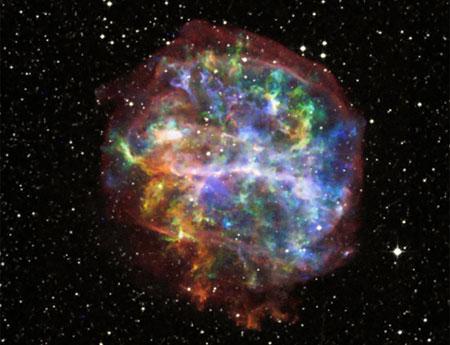 Siêu tân tinh không sinh ra nguyên tố lớn nhất