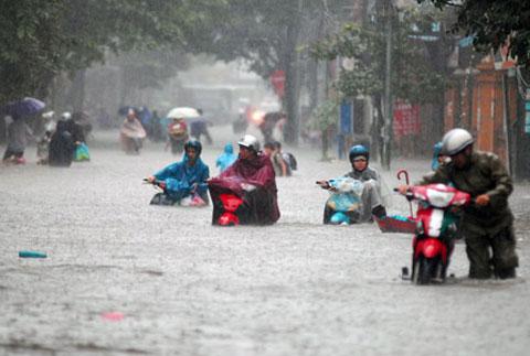 Việt Nam có thể chịu nhiều mưa lớn