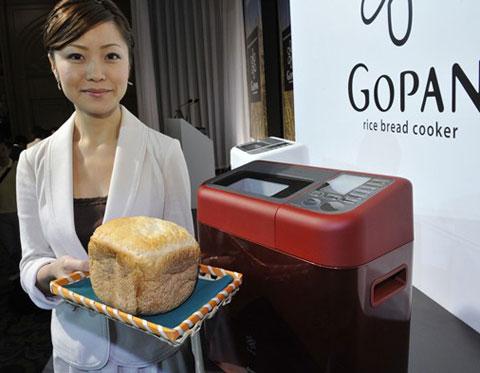 Nồi cơm điện nấu ra bánh mì