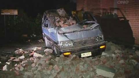 New Zealand rung chuyển vì động đất
