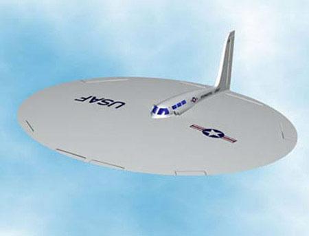 Không quân Mỹ từng chế tạo đĩa bay ném bom Liên Xô