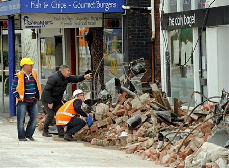 New Zealand hứng chịu 280 dư chấn động đất