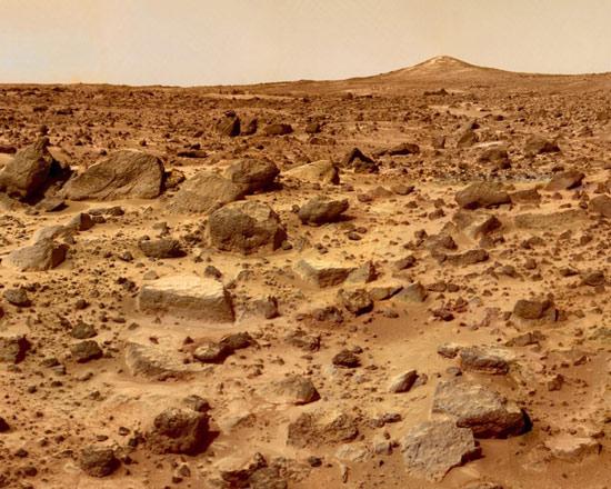 Bề mặt sao Hỏa tồn tại chất hữu cơ