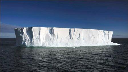 Những núi băng Nam cực sắp sụp đổ