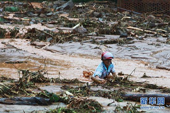 Bão Fanapi đổ bộ vào Quảng Đông, 13 người thiệt mạng
