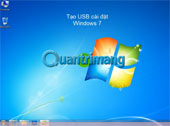Video - Tạo ổ USB cài đặt Windows 7