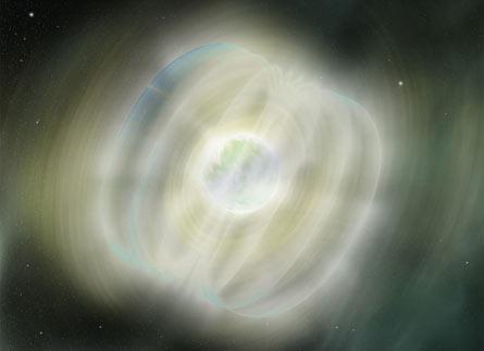 Tốc độ quay chóng mặt và từ trường cực mạnh của các ngôi sao