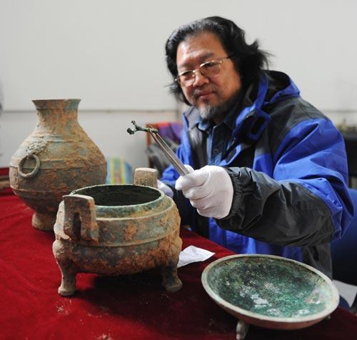 Tìm thấy món súp 2.400 năm tuổi