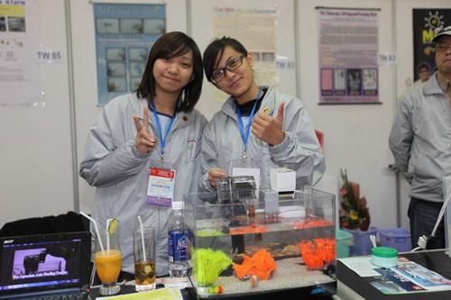 Triển lãm quốc tế sáng tạo Khoa học công nghệ