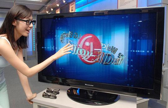 Xem nhiều tivi 3D gây bệnh