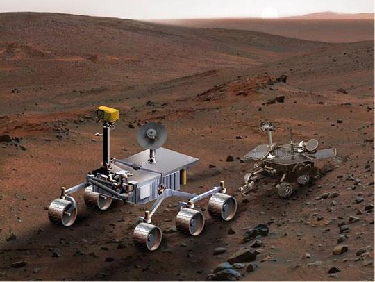 NASA trang bị laser cho robot thám hiểm sao Hỏa