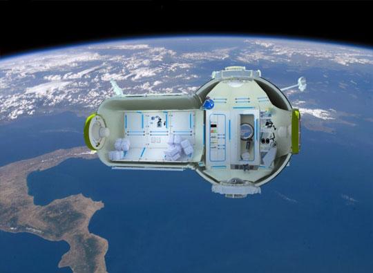 Trạm vũ trụ thương mại đầu tiên trên thế giới.