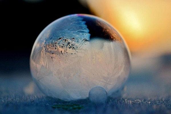 Những bức ảnh tuyệt đẹp ở âm 9 độ C